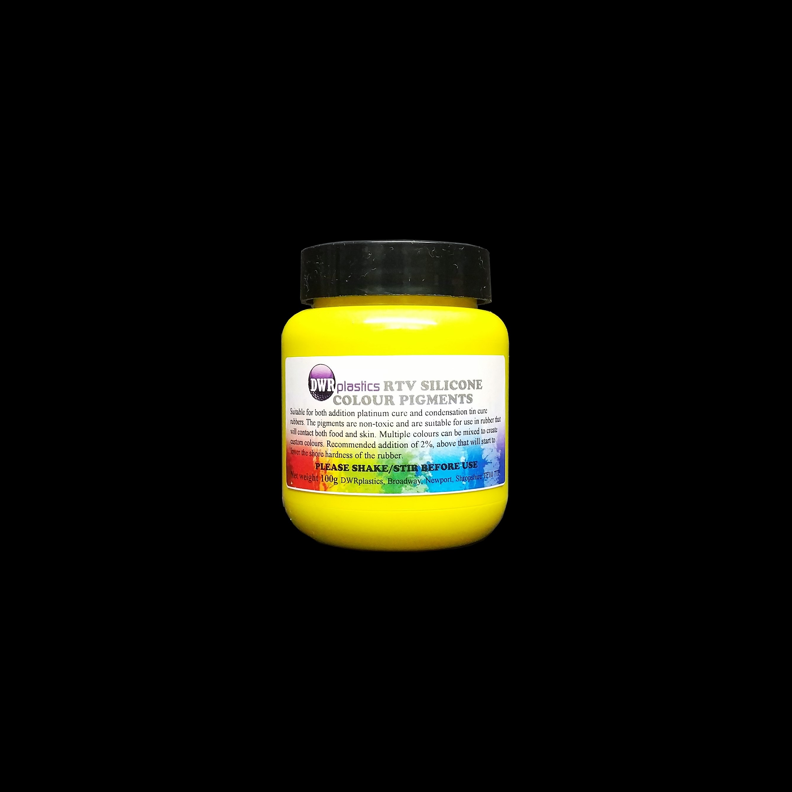 Yellow Silicone Pigment